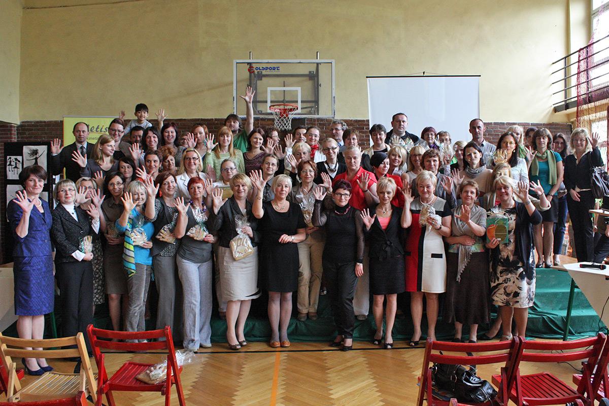 Złoci nauczyciele w 2012 r.