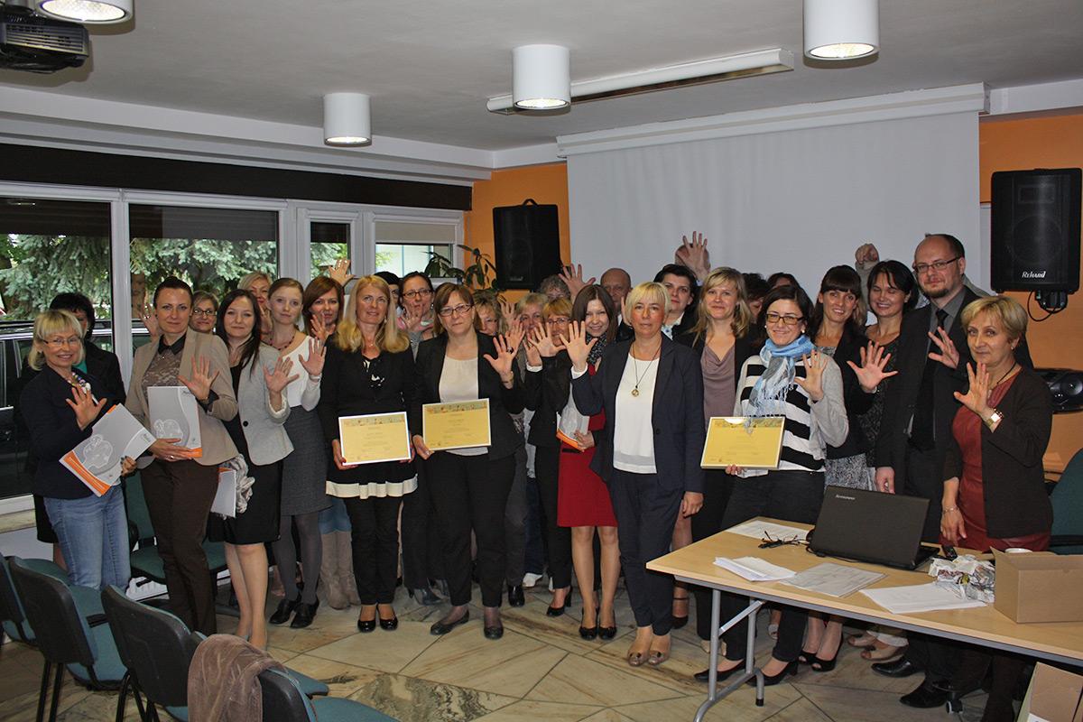 Złoci Nauczyciele 2014