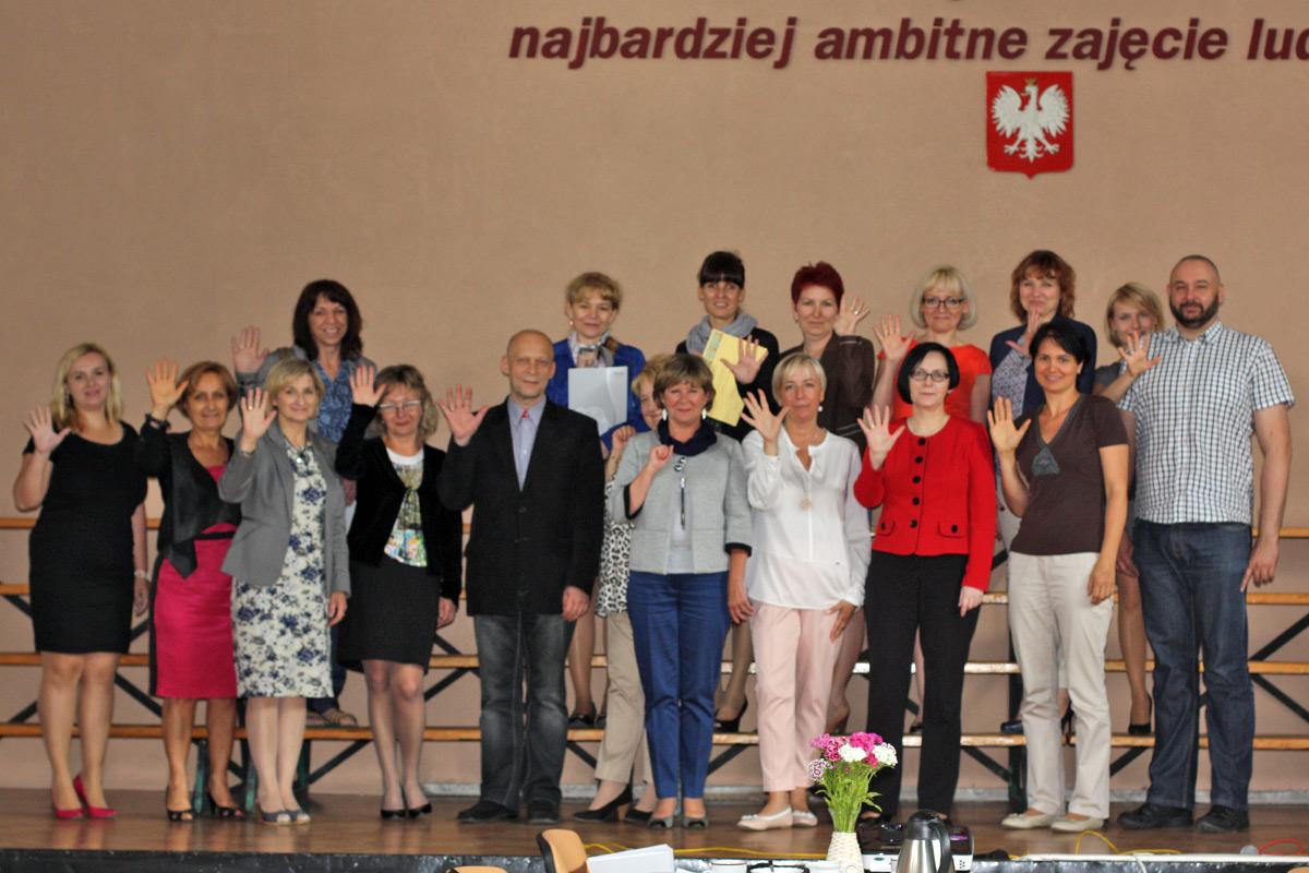 Złoci Nauczyciele 2015